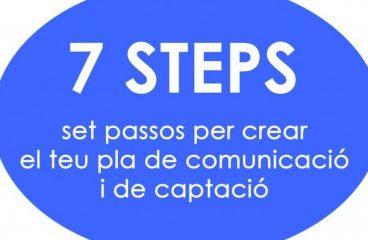 """Clàssics de CAUSES: """"7 passos per crear el teu pla de comunicació i captació"""""""
